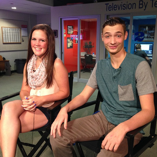 Mackenzie Hallam and Sam Gibbons anchor HTV Magazine #213, which debuts next week.