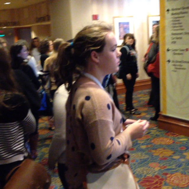 Want coffee? Get in line. #nhsjc #jea