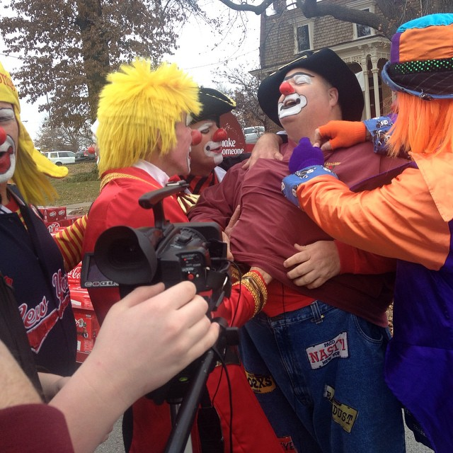 These crazy clowns will be part of an HTV feature on next week's show.