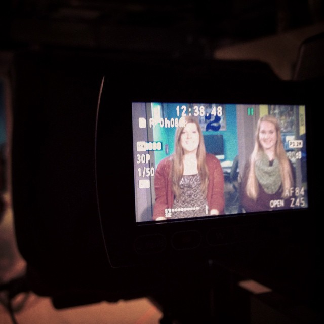 Darian and Emily anchor the new HTV Magazine, which goes online this week.