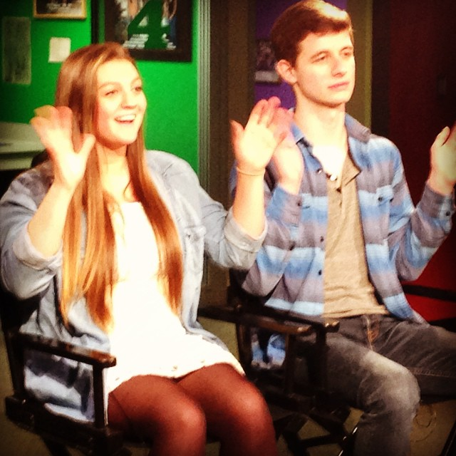 Shelby and James are apparently happy to finally nail an HTV intro during wrap-arounds.