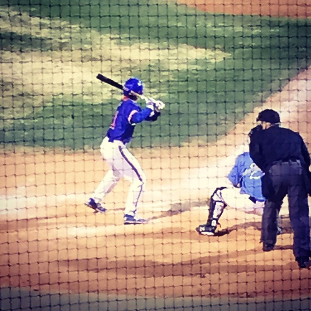Tanner Ryan at the plate in Bartlesville, OK where the Hornets are in a weekend tourney.