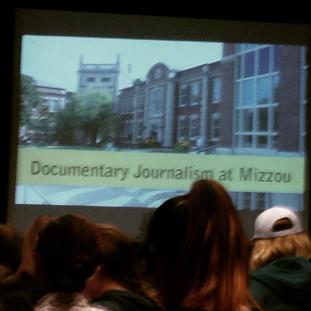 Nice to see the Show-Me State in full force at #nhsjc this morning. #mizzou