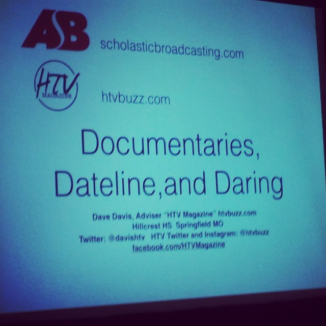 Some HTV Magazine in-depth reporting on display next. #nhsjc